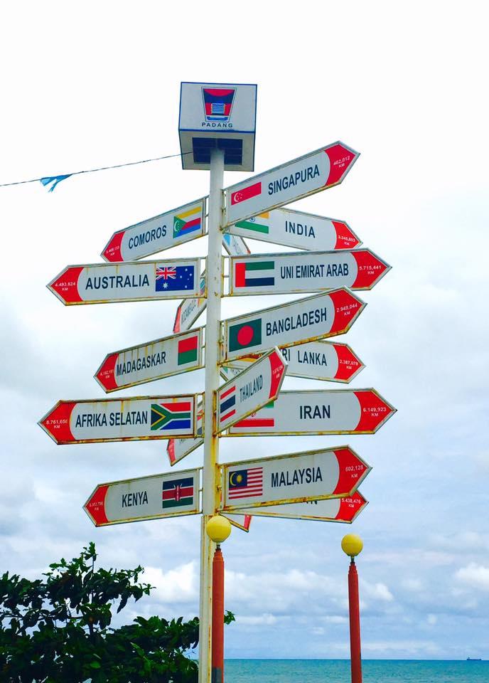 Padang Beach Flag Countries IORA