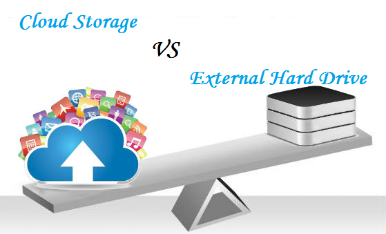 Which is better cloud storage or external hard drive?